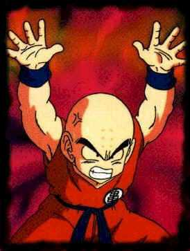 Krilin! Goku's best friend... Kulilin
